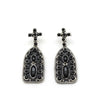 BLACK MISSION EARRINGS