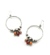 WARM MULTI WATERFALL EARRINGS