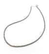 Single Strand 5mm Silver Beads