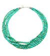 Turquoise 5-Beaded Strands