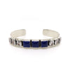 MEDIUM LAPIS 3-SQUARE CUFF