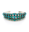 Turquoise 3-Row Cuff
