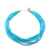 5 Beaded Turquoise Strands