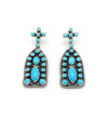 TURQUOISE MISSION EARRINGS