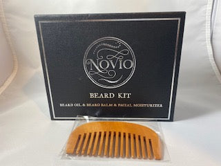 Novio Beard Kit - Comb