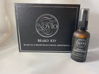 Novio Beard Kit - Facial Moisturizer