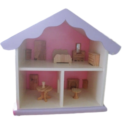 Two tier doll's house
