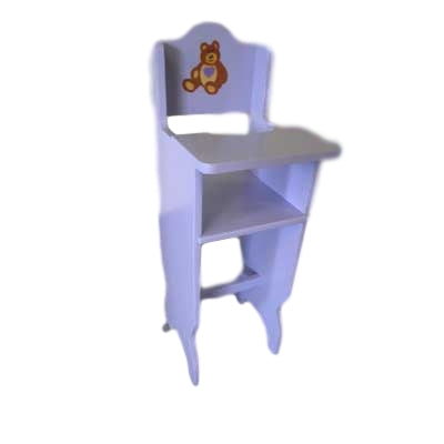 Large doll's high chair