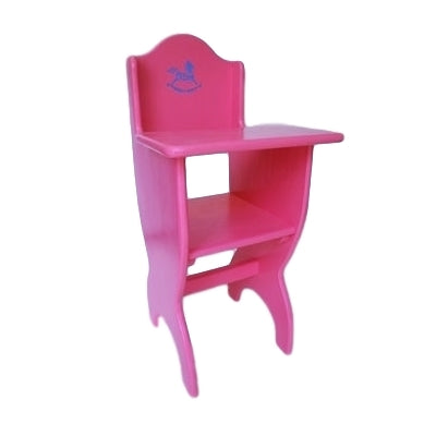 Small doll's high chair