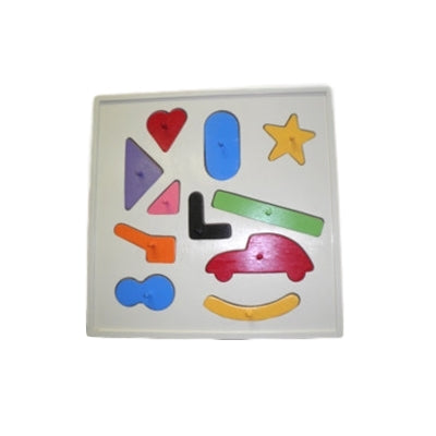 Shapes wooden puzzle game