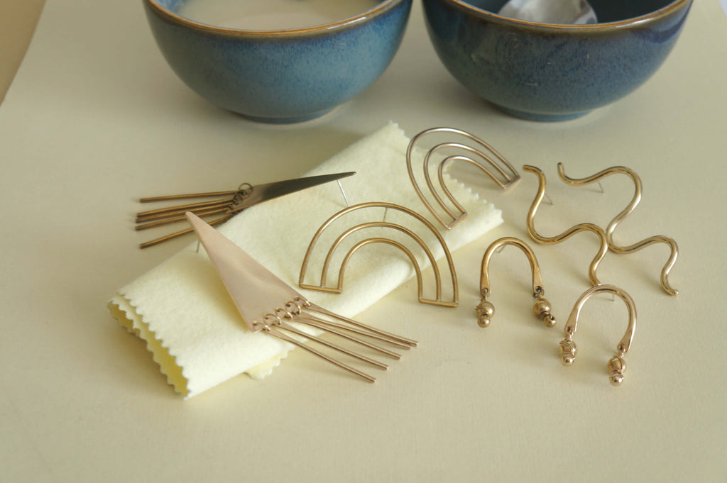 Easy Cleaning Brass Jewelry