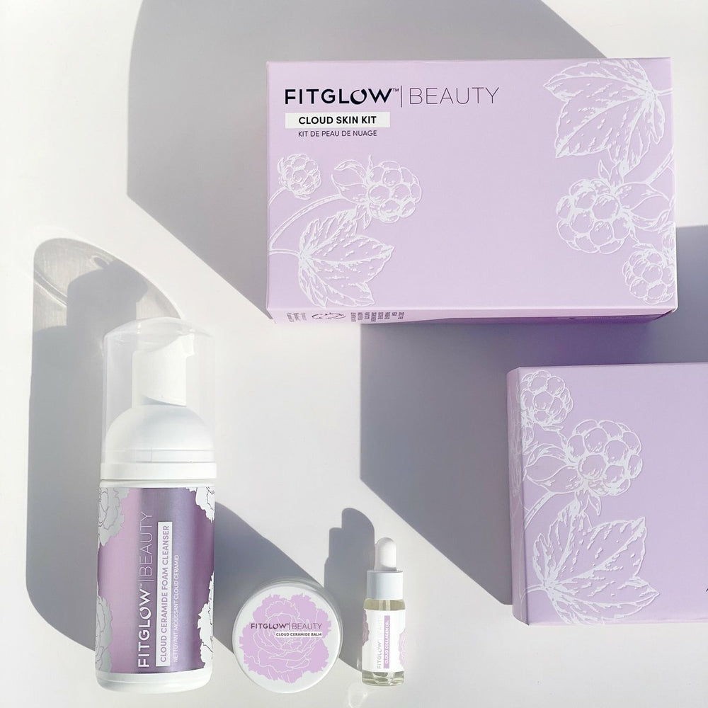 Fitglow Beauty Cloud Skin Kit ($85.00 Value) Expected to ship in 1 week