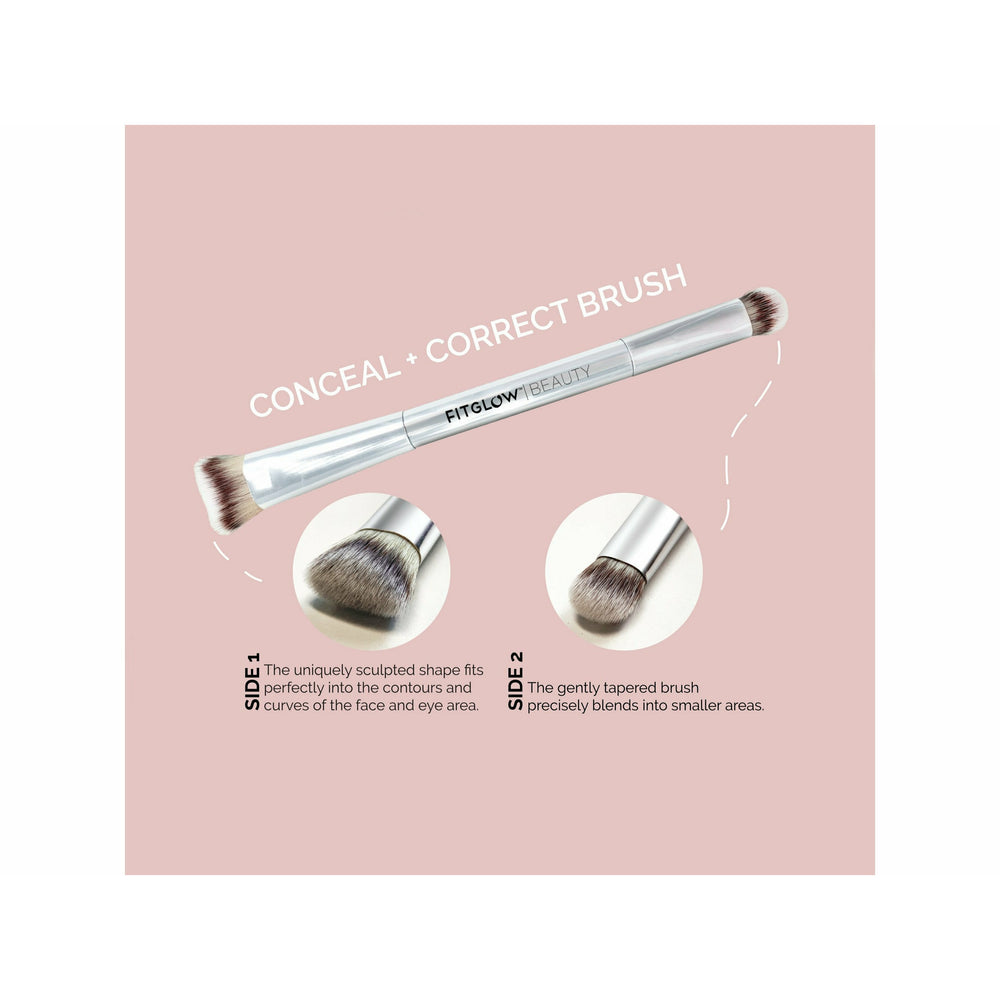 Fitglow Beauty Teddy Conceal + Correct Brush