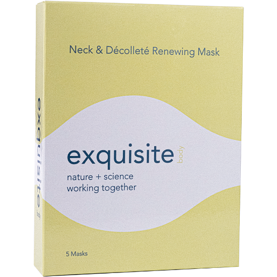 Exquisite Face + Body Neck & Décolleté Renewing Sheet Masks