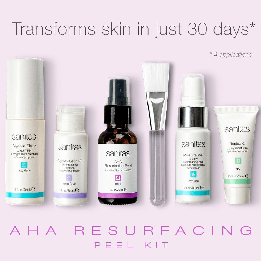 Sanitas AHA Resurfacing Peel Kit