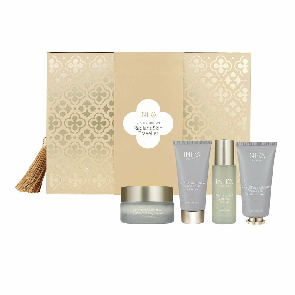 INIKA Organic Radiant Skin Traveller Set (Limited Edition)