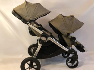 Clearance!!! City Select Double Stroller Preowned Grade Two