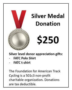 Silver Medal Donation