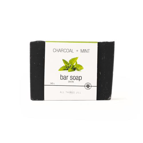 Charcoal & Mint Soap Bar - Asgard Beauty