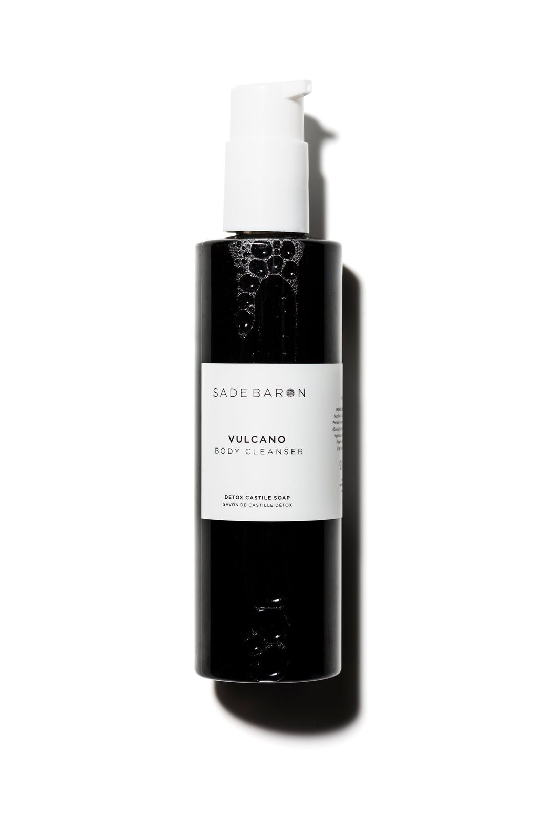 Sade Baron - Vulcano | Activated Charcoal Body Wash - Asgard Beauty