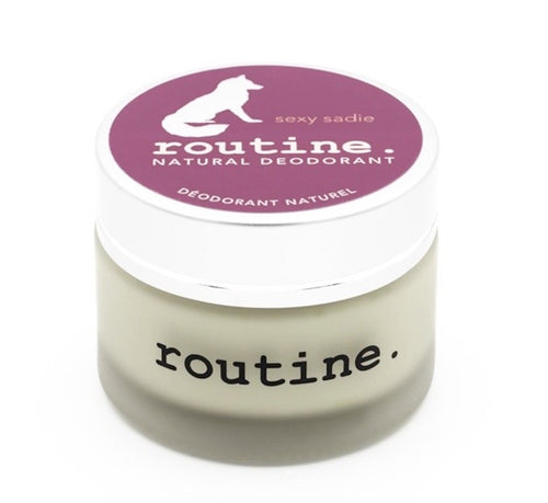 Routine Deodorant - Sexy Sadie | (Vegan: No Beeswax Version) - Asgard Beauty