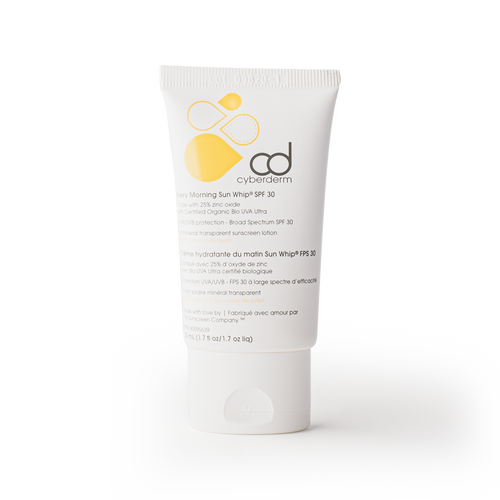 Cyberderm | Every Morning Sun Whip SPF 30 - All Mineral Transparent Sunscreen Lotion - Asgard Beauty