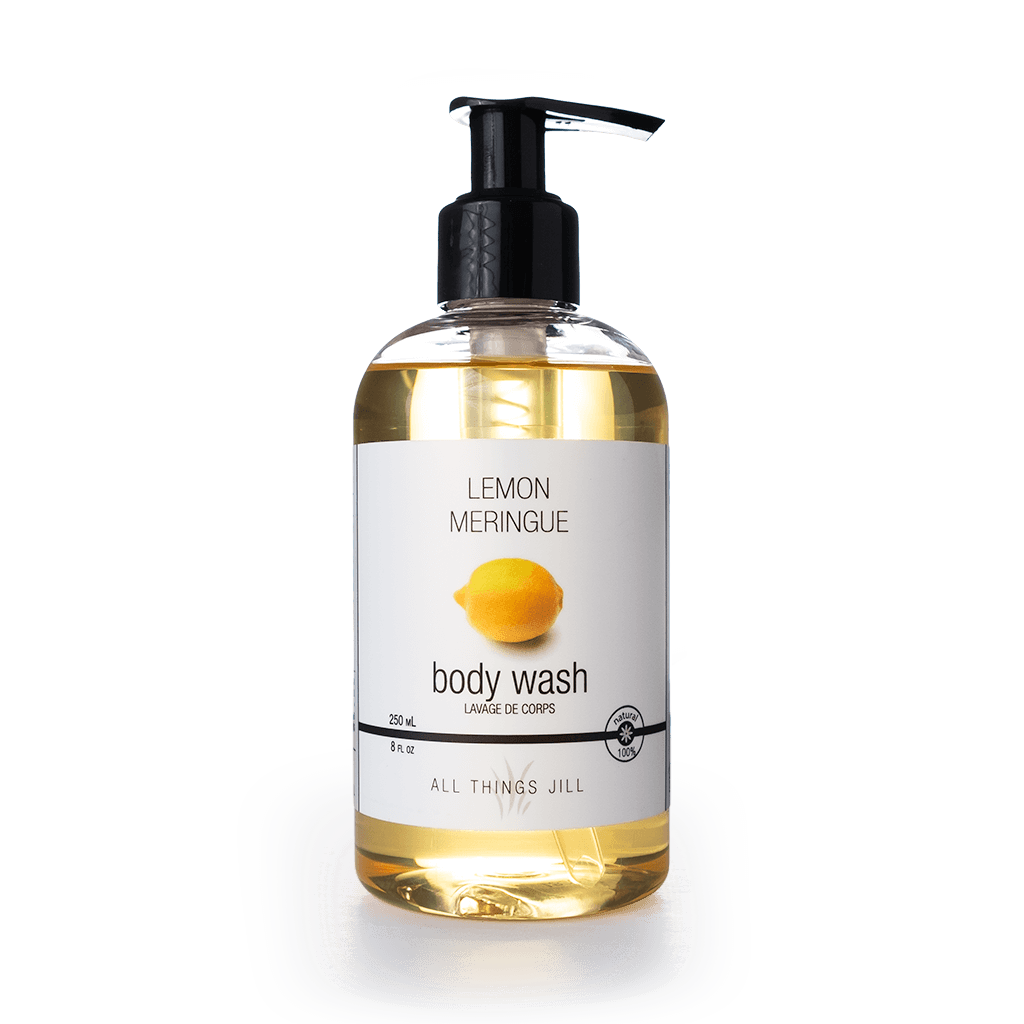 Organic Hand & Body Wash - Lemon Meringue (250ml) - Asgard Beauty
