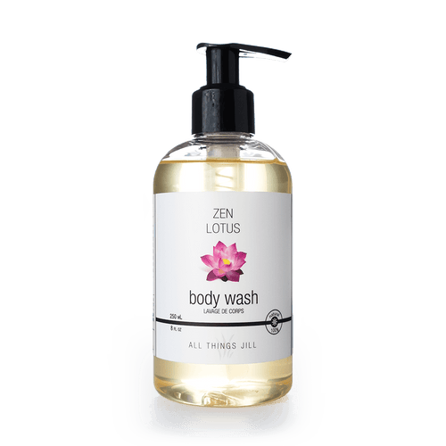 Organic Hand & Body Wash - Zen Lotus (250ml) - Asgard Beauty