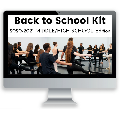 Back to School Kit: 2020-21 Middle/High Edition