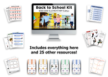 Load image into Gallery viewer, Back to School Kit: 2020-21 Elementary Edition