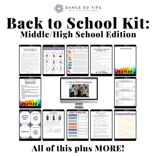 Back to School Kit: Middle/High School Edition (Digital Download)