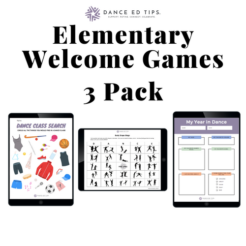 Welcome Games Elementary School (Pack of 3) (Digital Download)