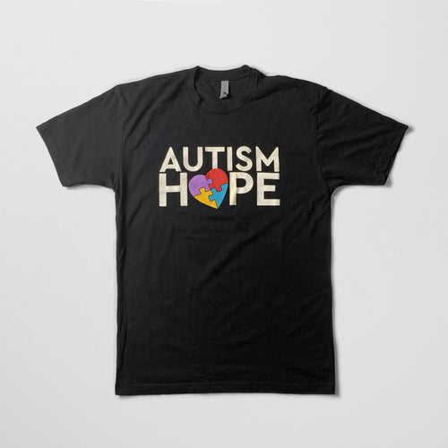 Autism Hope Puzzle Heart Shirt