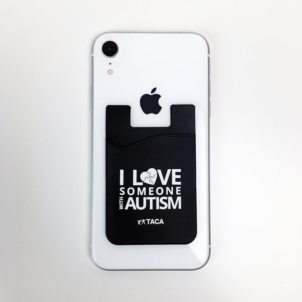 I Love Someone with Autism Mini Phone Wallet
