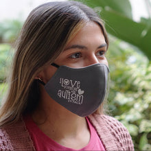 "Just in! TACA ""I Absolutely Love Someone with Autism"" Adult Face Mask"