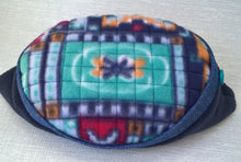 Load image into Gallery viewer, This colourful mens fleece cap has the signature TwiLd Capit Hog quilting