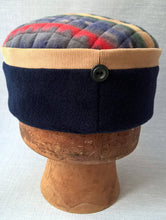 Load image into Gallery viewer, Ethnic fleece Fez Hat, Mens Hippie Style Boho Cap