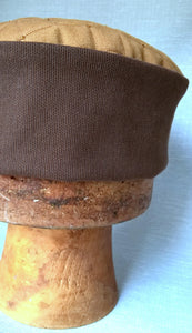 The handmade smoking cap is an easy wear mens hat