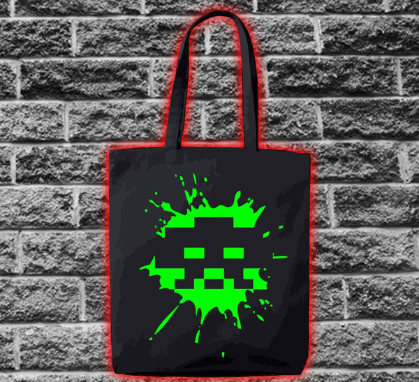 Space Invader Ship 3 Splat Bag