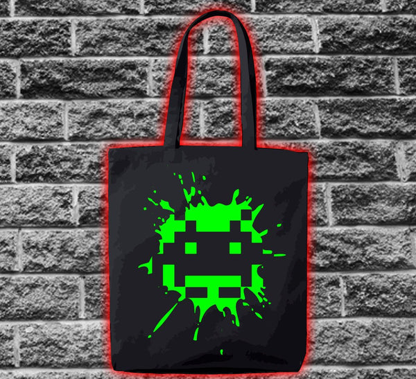 Space Invader Ship 2 Splat Bag