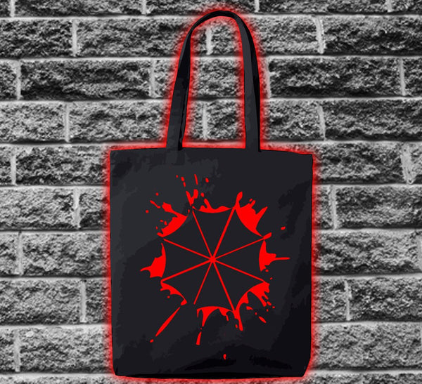 Resident Evil Umbrella Corporation Logo Splat Bag