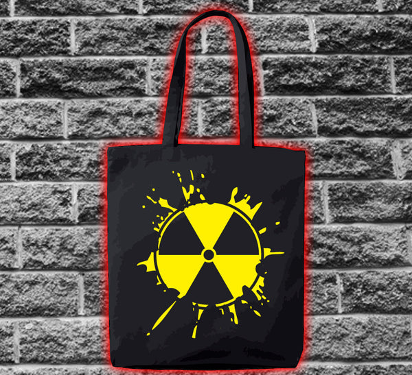 Radioactive Logo Splat Bag