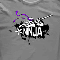 TMNT Teenage Mutant Ninja Turtle Donatello Graffiti T-shirt