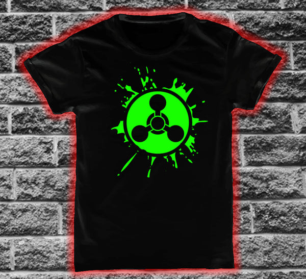 Chemical Weapon logo Splat T-shirt