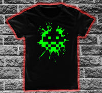 Space Invader 1 Splat T-shirt