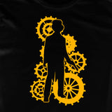 Steampunk Male METALLIC Gold Character T-shirt