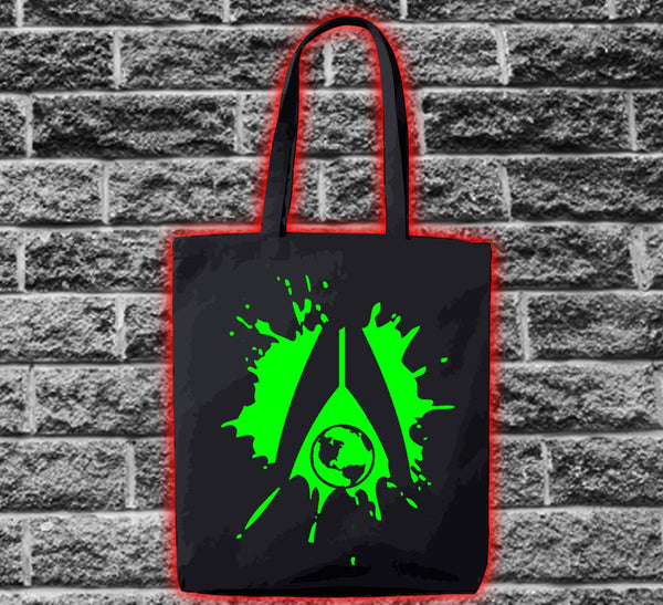 Mass Effect Alliance Globe Splat Bag