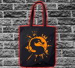 Mortal Kombat Dragon Logo Splat Bag