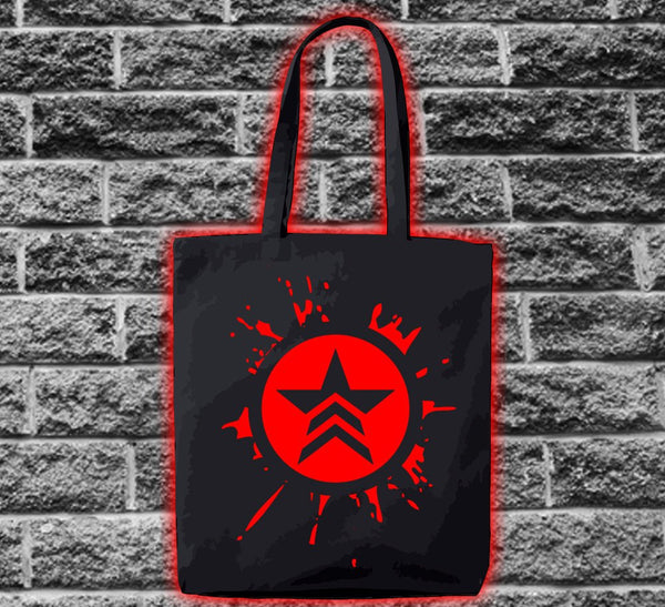 Mass Effect Renegade Splat Bag