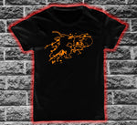 Street Fighter Ryu Splats Character T-shirt